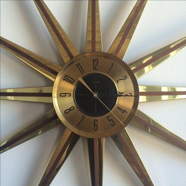 Welby Atomic Starburst Clock - Image 5 of 7