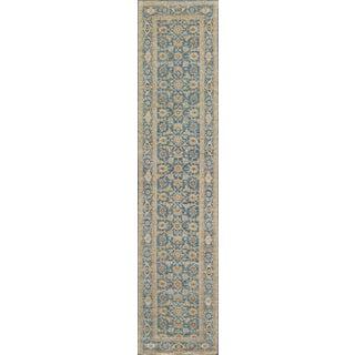 Handwoven Revival Tabriz Runner - 3′ × 12′ For Sale