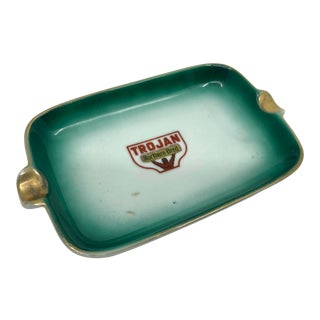 Antique Trojan Northern Bred Ash Tray/ Catch All For Sale
