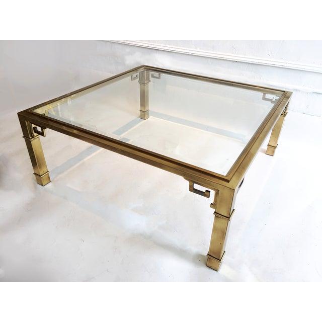 Mastercraft Brass Coffee Table - Image 3 of 5