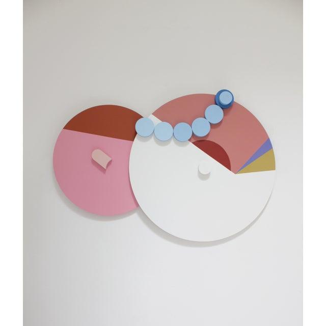 Angela Chrusciaki Blehm Peek-A-Boob Caramel Wall Sculpture For Sale - Image 6 of 6