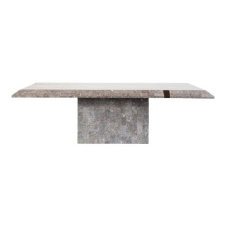 Modern Stone Coffee Table For Sale