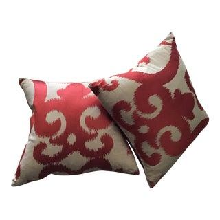Cowtan & Tout Fabric Pillows - a Pair For Sale