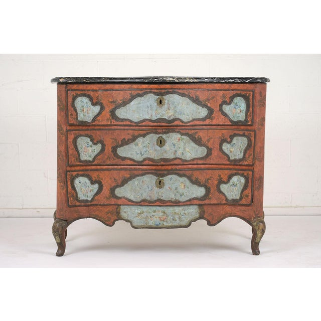 Late 18th Century Polychrome Chest of Drawers For Sale - Image 13 of 13