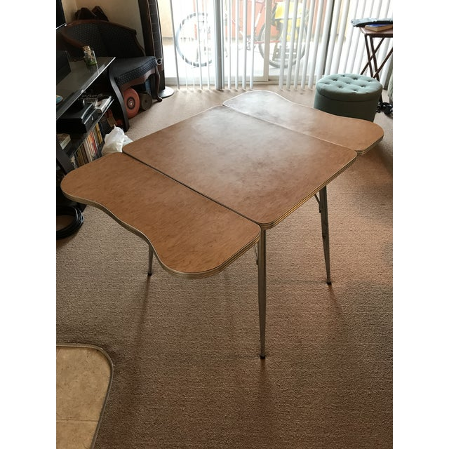 Chrome Trim Formica Table - Image 7 of 10