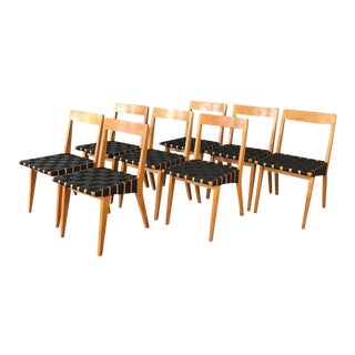 Jens Risom for Knoll Side Chairs - Set of 8
