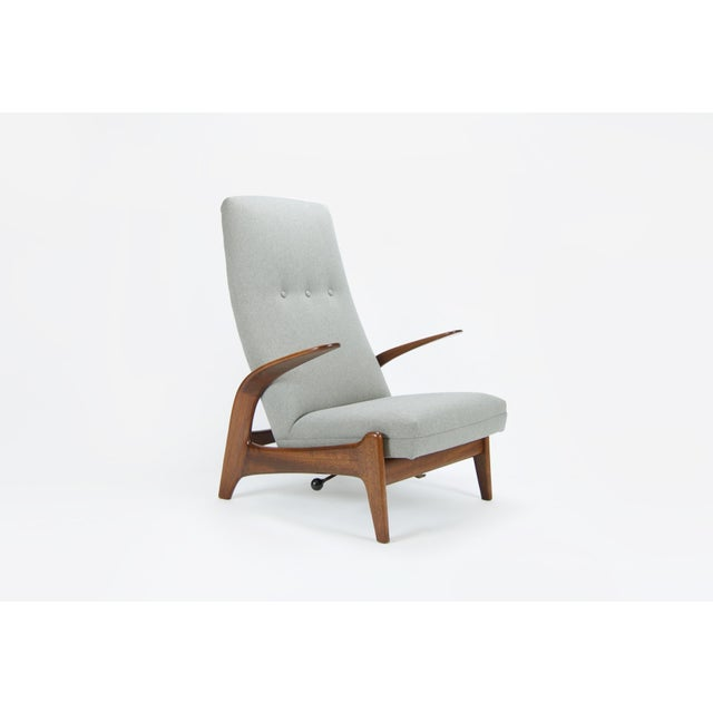 """Danish Modern Adolf Relling and Rolf Rastad """"Rock N Rest"""" Armchairs - a Pair For Sale - Image 3 of 9"""