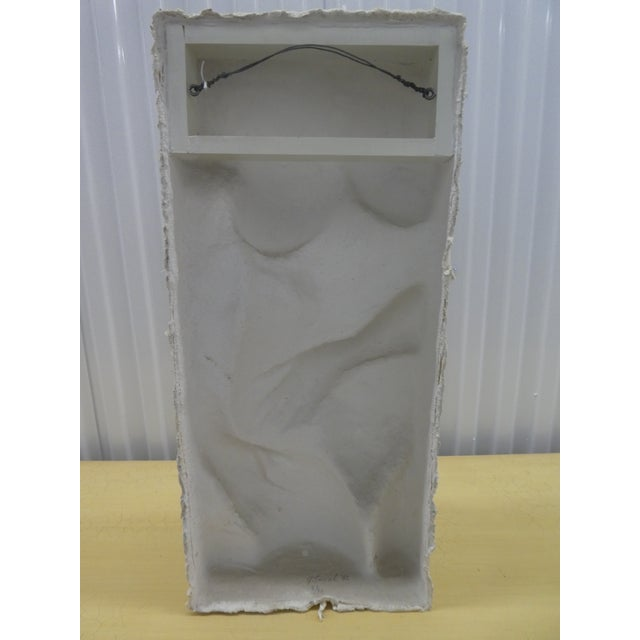1980s George Segal Female Nude Torso Sculpture, Sidney Janis Editions For Sale - Image 5 of 13