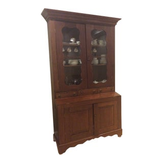 Early American Vintage Hutch For Sale