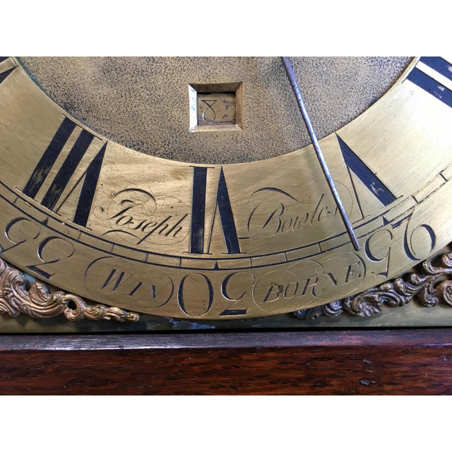 Brown 18th Century Longcase 8 Day Time & Strike Clock For Sale - Image 8 of 13