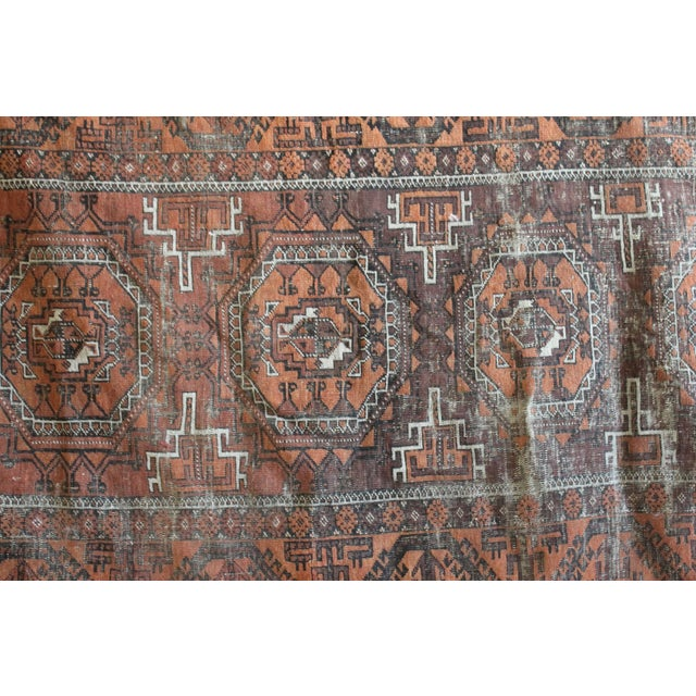 "Hand Knotted Turkish Rug - 3'7"" x 6'2"" - Image 2 of 3"