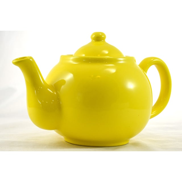 1950s Yellow Ball Teapot - Image 3 of 5