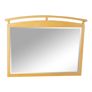 Ethan Allen American Dimensions Wood Framed Mirror For Sale