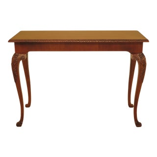 Wellington Hall Georgian Style Carved Mahogany Console Table