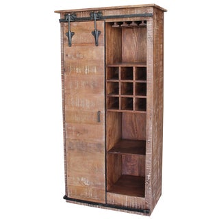 Salvaged Tall Bar Cabinet