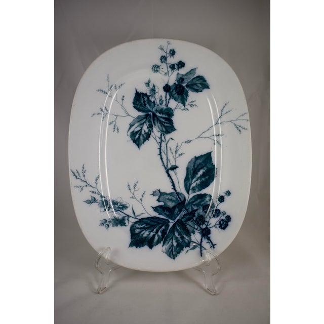 Villeroy & Boch Aesthetic Movement Rubus Mettlach Platter | Chairish