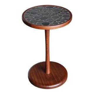 1960s Vintage Gordon Martz Ceramic Tile Top Occasional Table For Sale