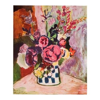 "1940s Henri Matisse, Original Period Parisian Lithograph ""Vase of Flowers"" For Sale"