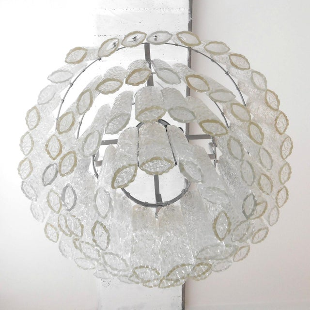 Venini Ovalini Chandelier by Venini For Sale - Image 4 of 5