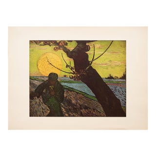 "1950s Vincent Van Gogh, ""The Sower"" First Edition Vintage Lithograph For Sale"