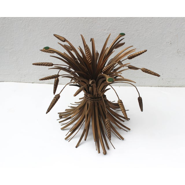 Italian Sheaf of Wheat Cocktail Table For Sale In New York - Image 6 of 7