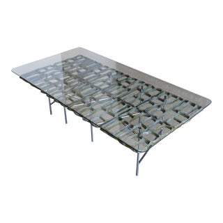 Mid Century Sculptural Coffee Table by Donald Drumm For Sale