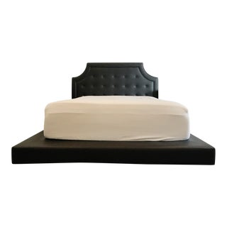 Faux Leather Avalon Bed For Sale