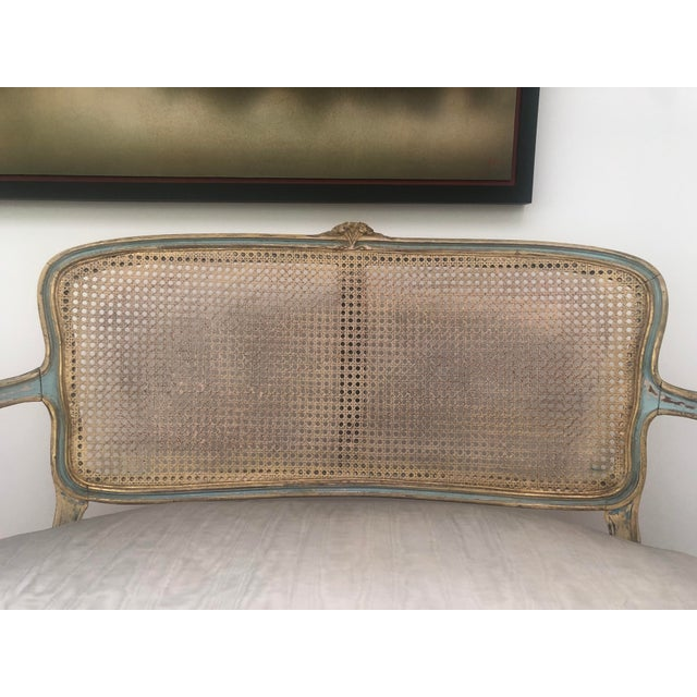 1920s French Circa 1920 Louis XV Style Settee For Sale - Image 5 of 8