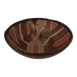Art Pottery Bowl For Sale