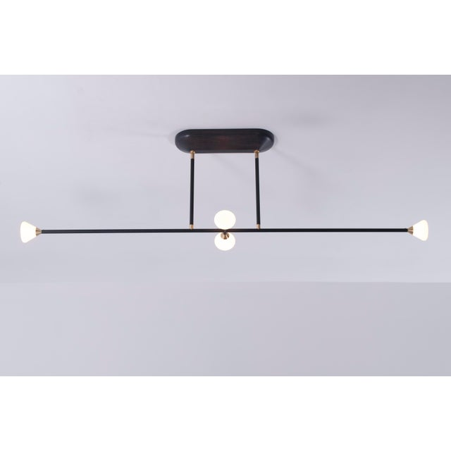 Apollo 4 Chandelier by McKenzie & Keim For Sale In Chicago - Image 6 of 13
