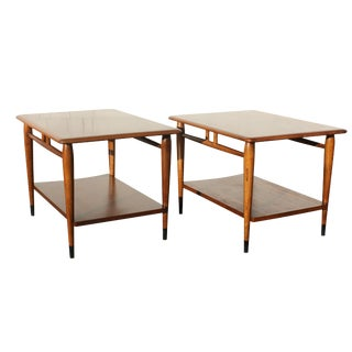 Vintage Danish Modern Lane End Tables - a Pair