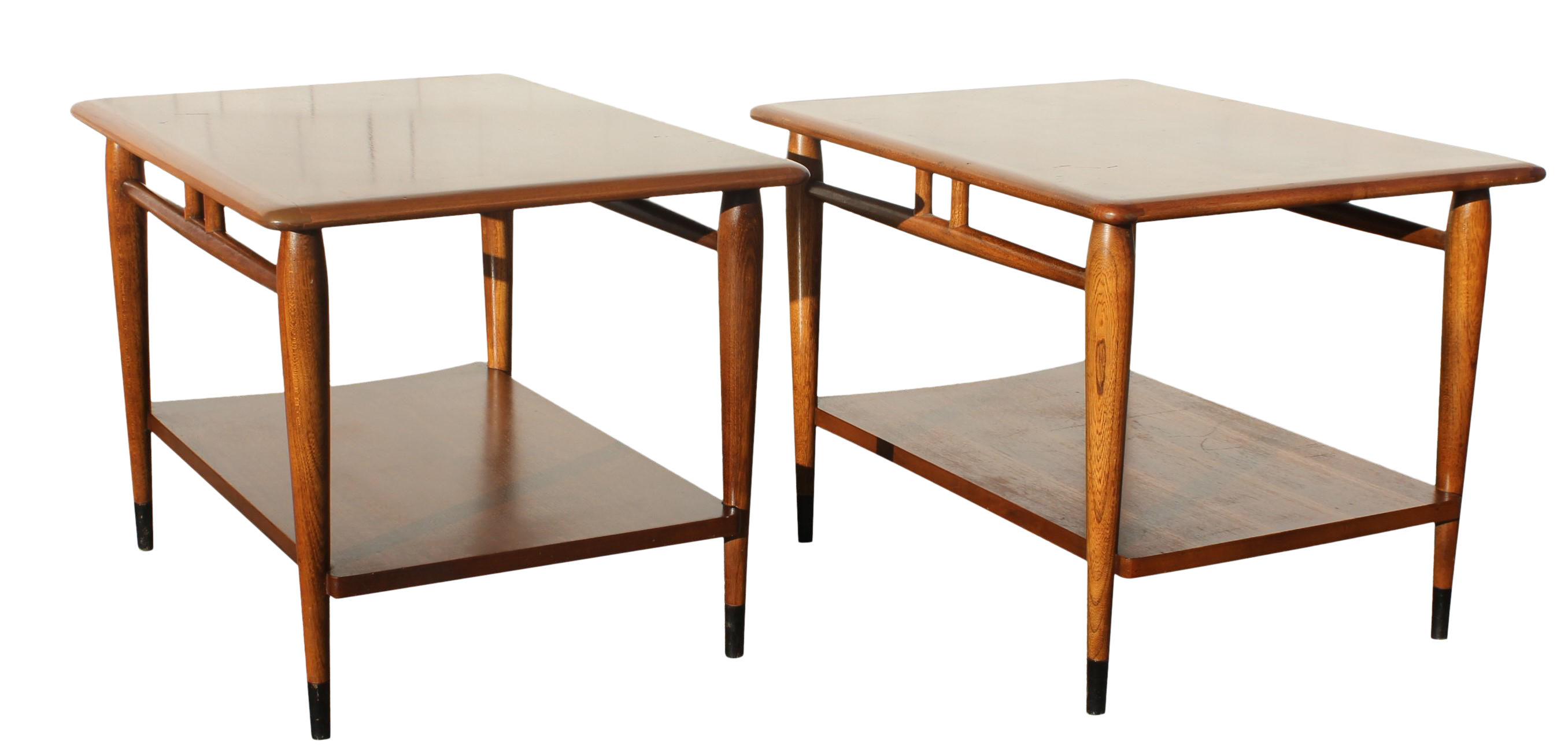 Vintage Danish Modern Lane End Tables   A Pair   Image 1 Of 13