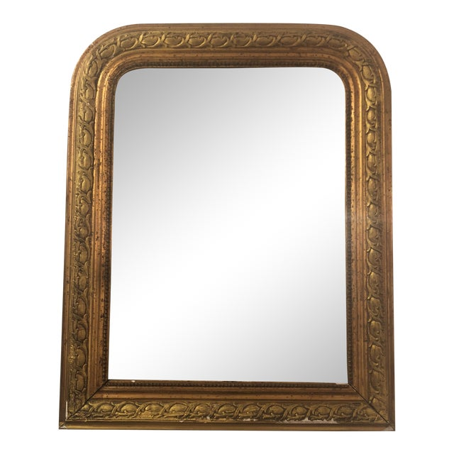 Louis Phillipe Gold Mirror For Sale