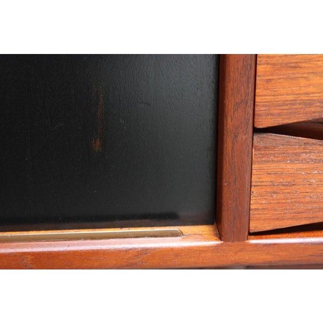 Arne Vodder Teak Credenza with Reversible Doors For Sale In New York - Image 6 of 11