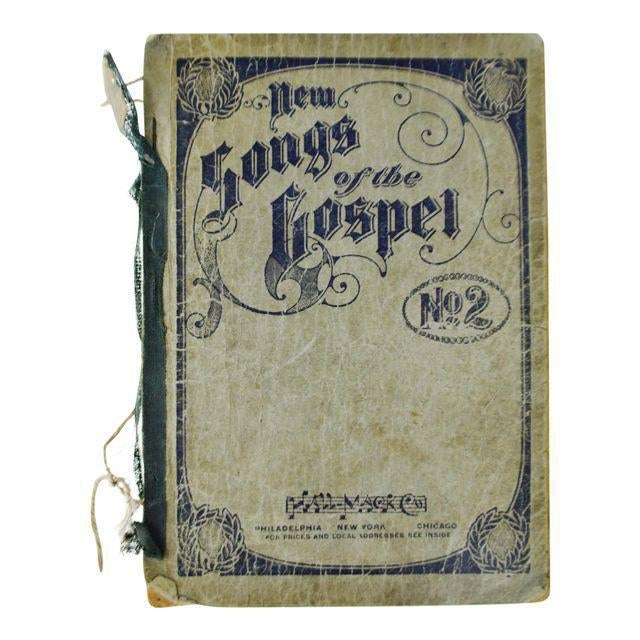An Antique Printing of '1905 New Songs of the Gospel No. 2' Book For Sale - Image 10 of 11