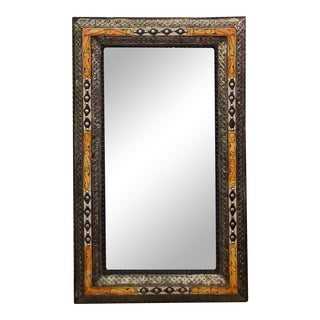 Chaabi Marrakech Rectangular Resine Inlay Mirror For Sale