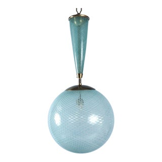 Italian Glass Sphere Lantern