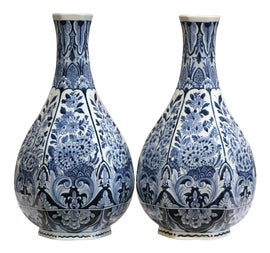 Image of Navy Blue Vessels and Vases