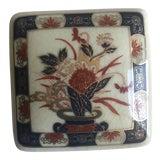 Image of Vintage Imari Ware Japanese Porcelain Trinket Box For Sale
