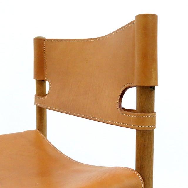 """Børge Mogensen 1960s Vintage Børge Mogensen """"Hunting"""" Chairs- Set of 6 For Sale - Image 4 of 11"""