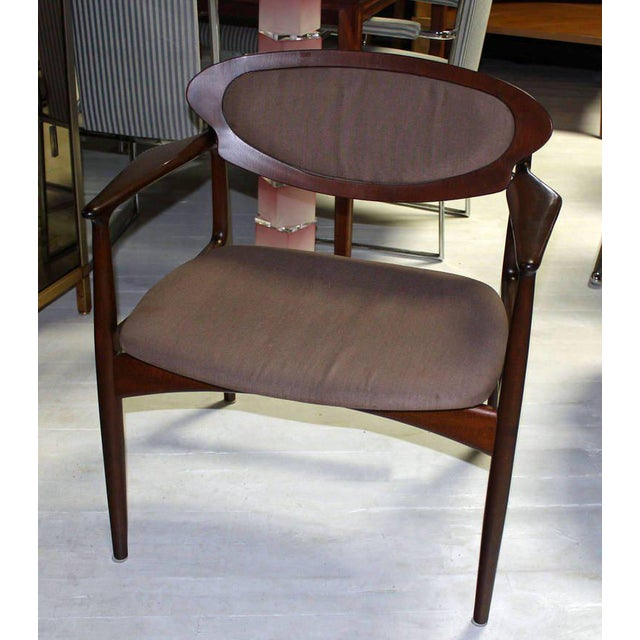 Extra-Wide Mid-Century Danish Modern Lounge Chair by Selig For Sale - Image 9 of 10