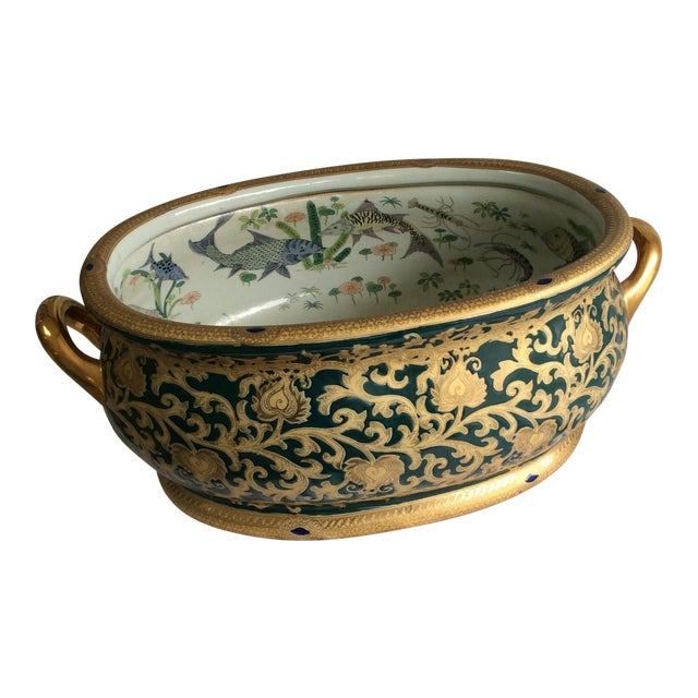 Chinoiserie Planter - Image 1 of 4