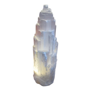 Selenite Lamp Skyscraper