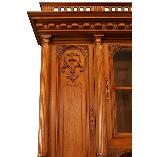 1900 French Renaissance Carved Buffet For Sale - Image 4 of 8