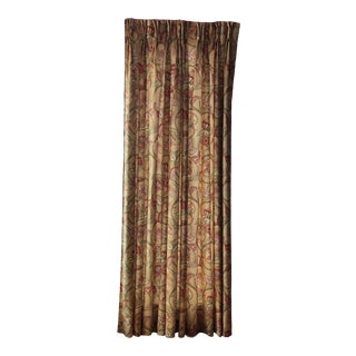 Custom Pinch Pleated Drapes - a Pair For Sale