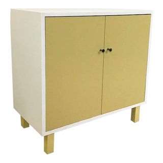 Mid Century Painted Cabinet For Sale