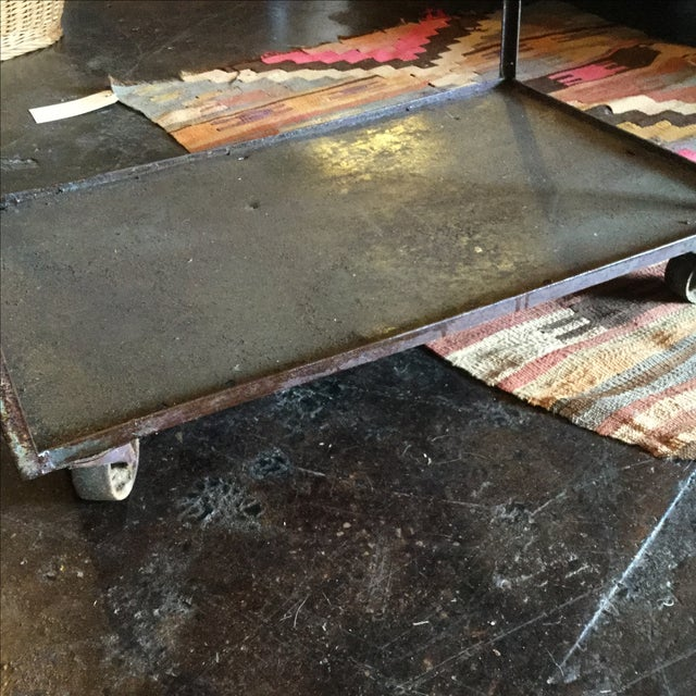 Industrial Bar Cart - Image 9 of 10