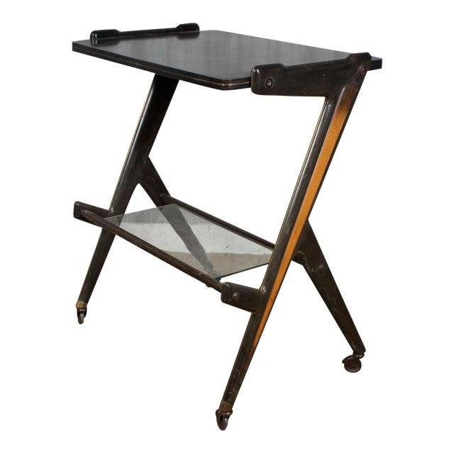 Vintage Retro Italian Mid Century Modern Designer Desk Table by Ico Parisi For Sale