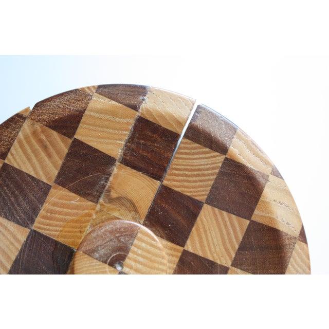 Lidded Wooden Pedestal Bowl - Image 5 of 10