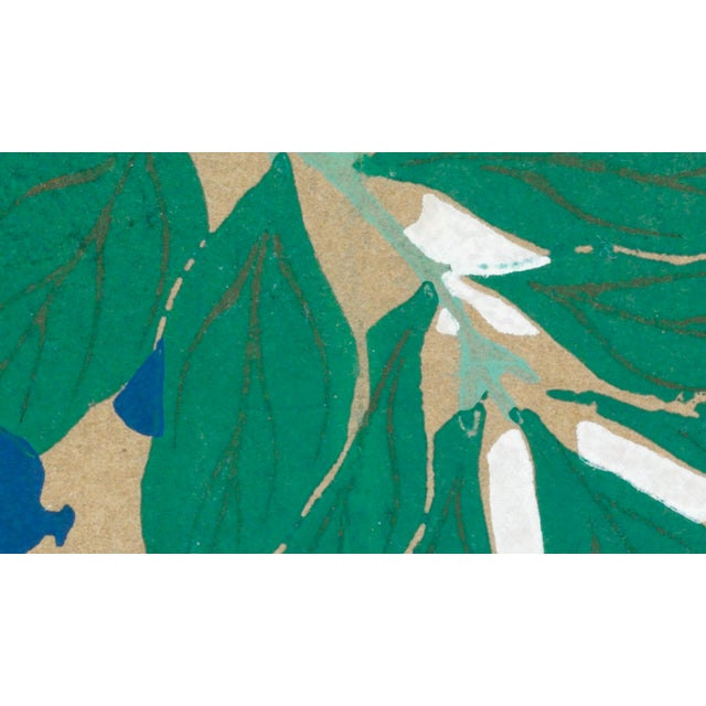 Wisteria by K. Sekka This reproduction is a new, individually printed and proofed, superior quality, giclee* process, fine...